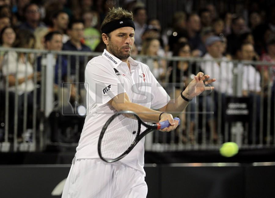 Former world number seven Mardy Fish has been appointed as United States captain for the first edition of the new-look Davis Cup. - AFP