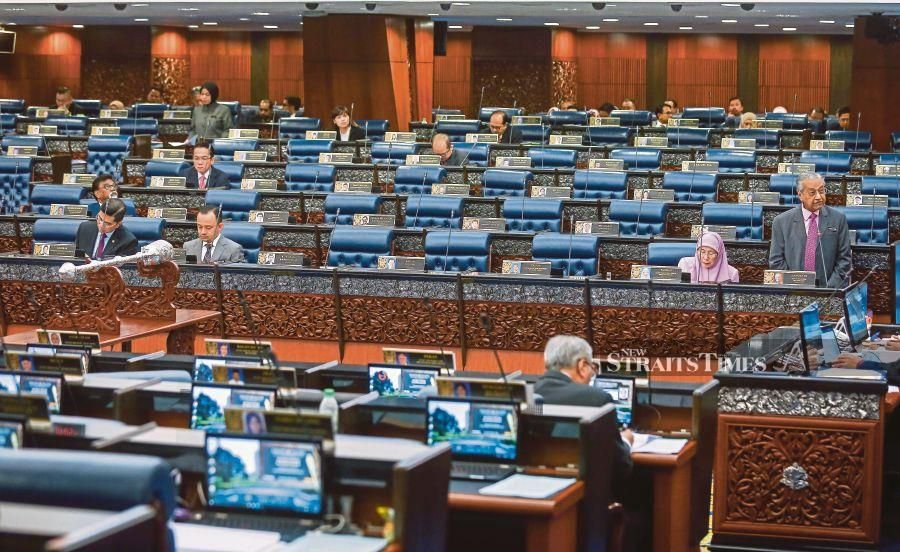 Time for MPs to be more active in Parliament. NSTP