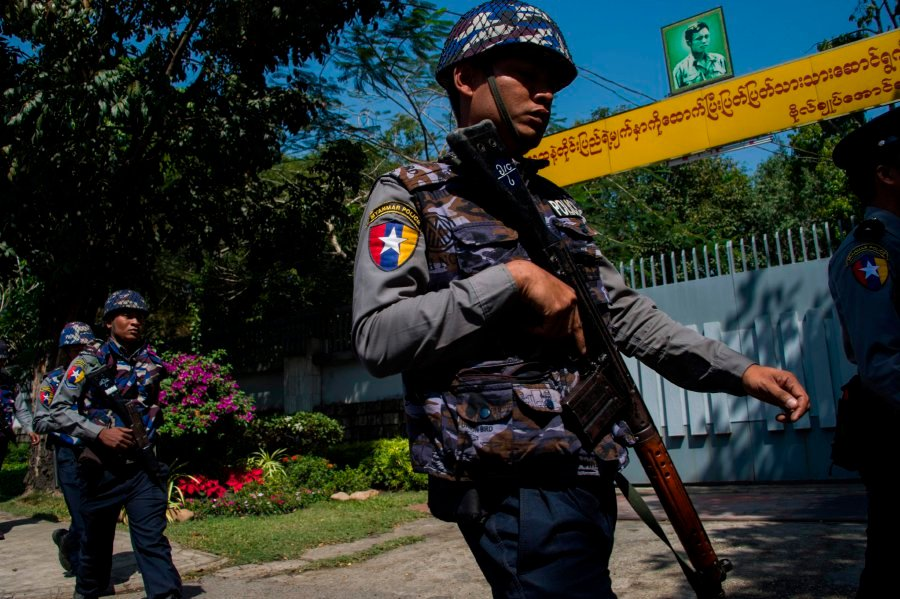 Petrol bomb thrown at Suu Kyi's lakeside villa: Myanmar govt