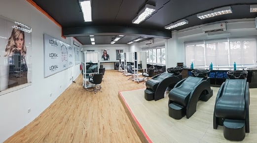 L'Oreal Malaysia had refurbished a hairdressing studio and provided additional training to enhance the curriculum.
