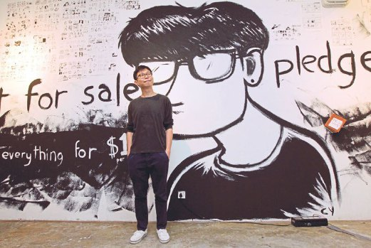 """""""All the work is on acid-free Bristol boards and I use water-proof ink."""" Chong Chin Yew"""