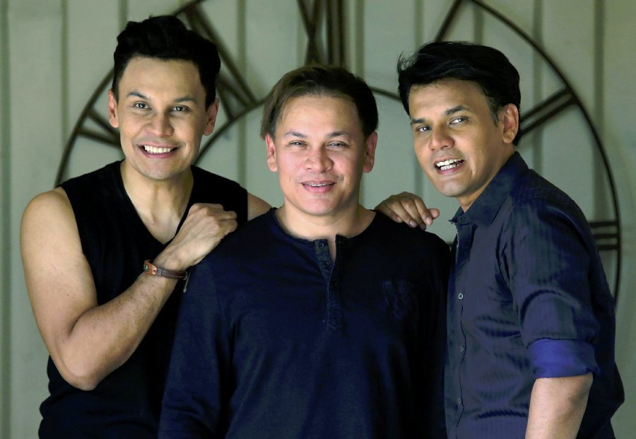They may still love dancing, but their fitness levels need a boost with a little help from a trainer. Datuk Norman Abdul Halim, the eldest of the KRU brothers, made this frank admission yesterday, as Yusry, Edry and himself got busy preparing for their KRU25 concert at Istana Budaya, Jalan Tun Razak next month. (FIle pix)