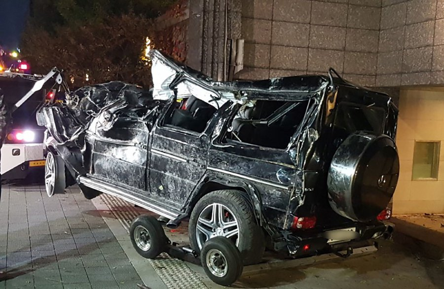 Korean Actor Killed In Car Accident