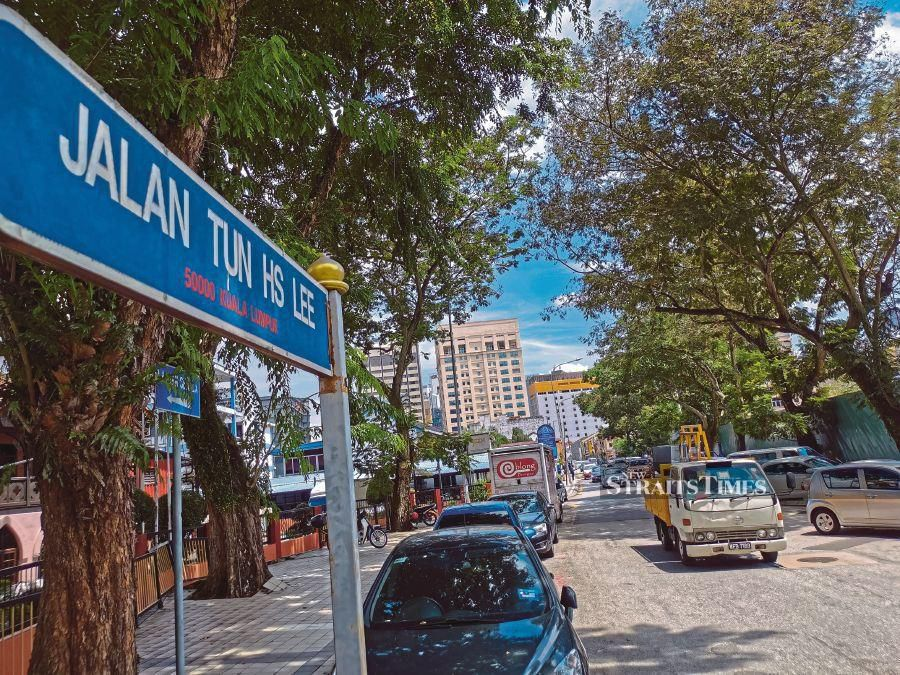 Jalan Tun H.S. Lee used to be called High Street.