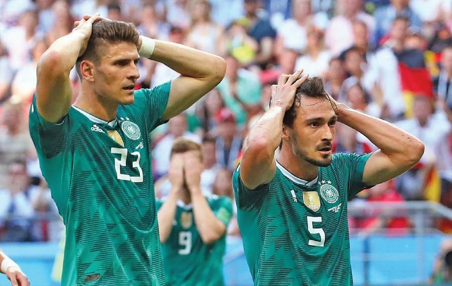 c45992ed04f (File pix) 2014 World Cup champion Germany lost to South Korea 0-2