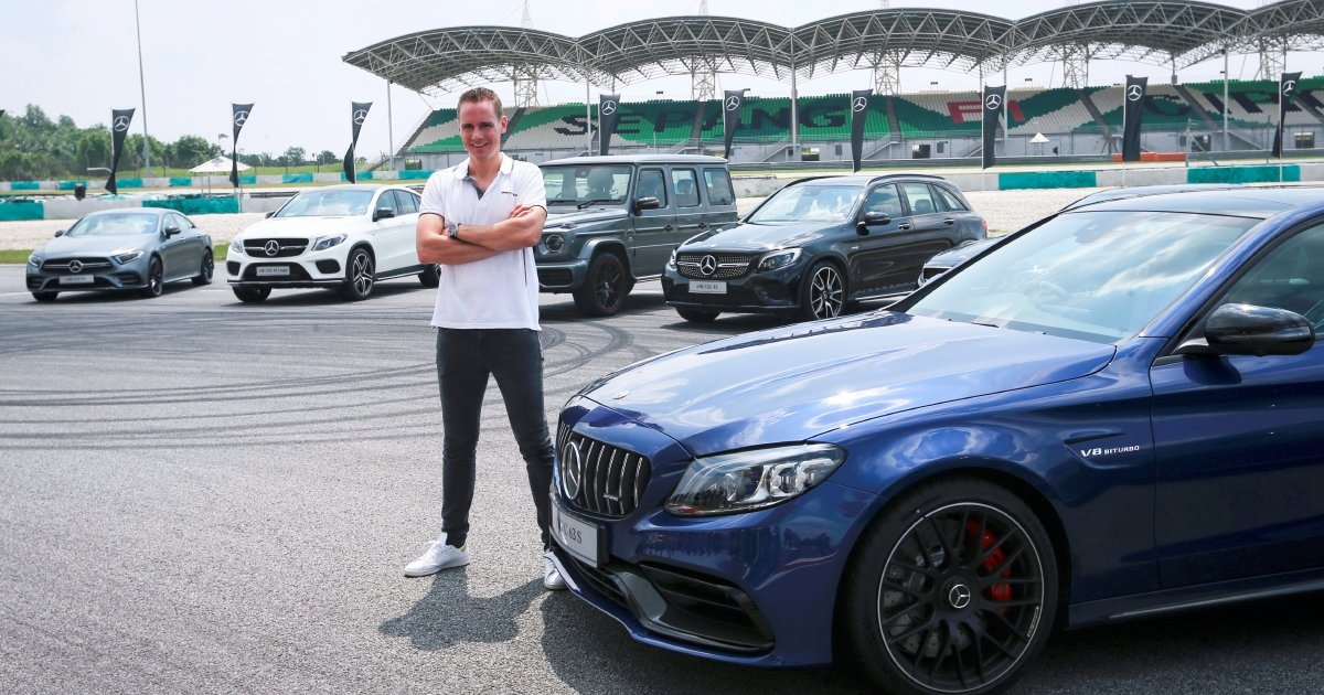 Mercedes Benz Launches Latest Amg Quintet At Sepang