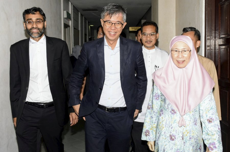 Image result for Tian Chua out of GE-14
