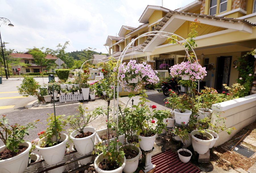 (File pix) Landed properties will always be able to command a premium. Pix by Saifullizan Tamadi