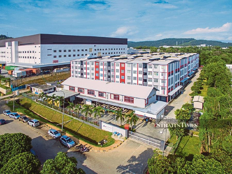 Westlite Accommodation in Johor Technology Park.
