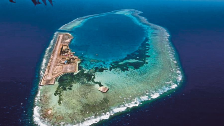 (File pix) Swallow Reef is a part of the Spratly islands. PIC TAKEN FROM ARRL WEBSITE