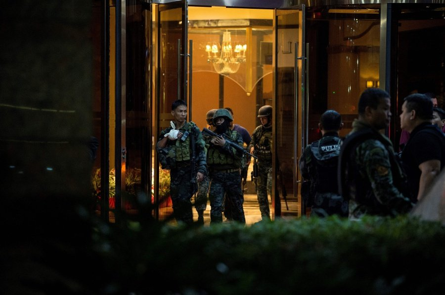 37 killed in Philippines casino attack 'claimed by IS'