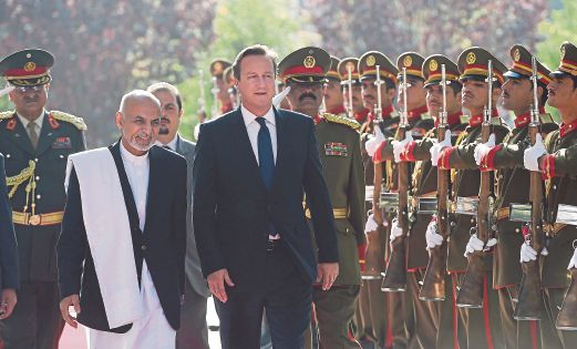 Britain's Cameron on surprise visit to Afghanistan | New