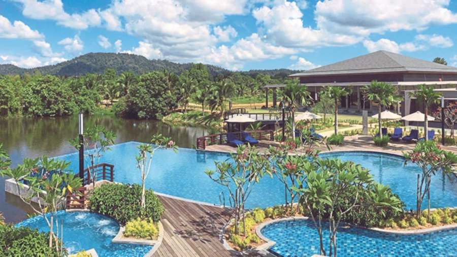 Landscaping Ideas From Mangala Resort New Straits Times Malaysia
