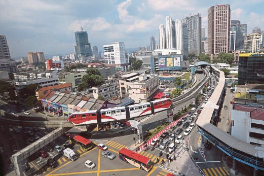 Urbanisation in Malaysia is growing at four per cent a year — among the fastest in Asia. By 2020, 90 per cent of Malaysians will be urban dwellers. FILE PIC