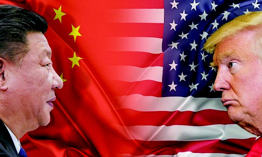 The US-China trade war will have an impact on the international order. REUTERS PIC