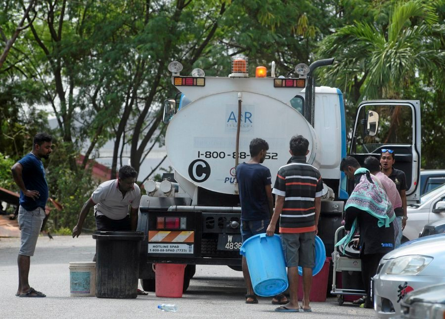 Water Disruptions Affect Over 700 000 Klang Valley Households The Star