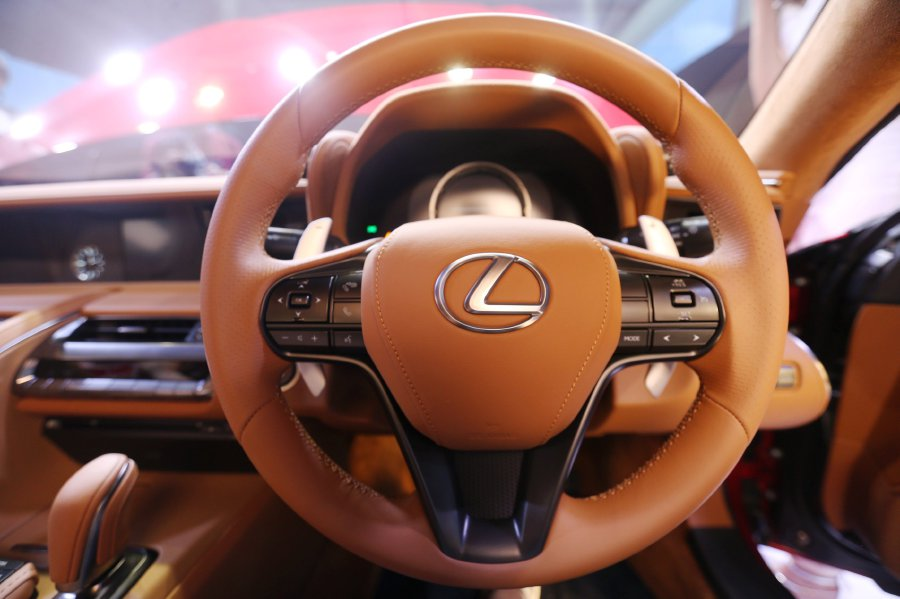 Lexus Tops Jd Power S Dependability Study New Straits Times