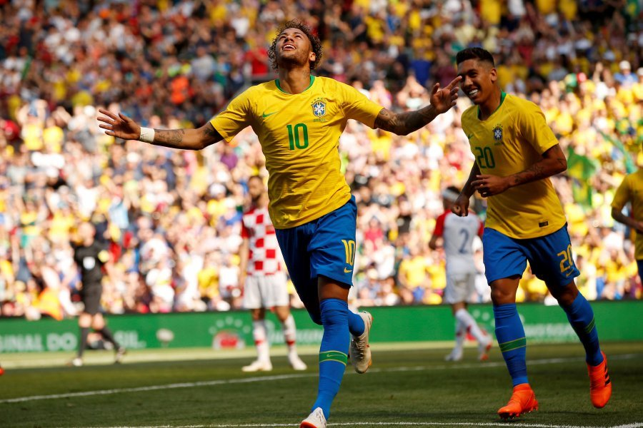 Image result for neymar brazil croatia