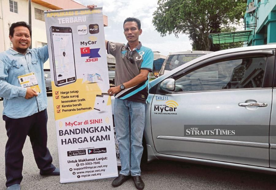 E-hailing service drivers in Malaysia are required to get a PSV licence and send their cars for annual inspection at the Computerised Vehicle Inspection Centre. - NSTP/File pic