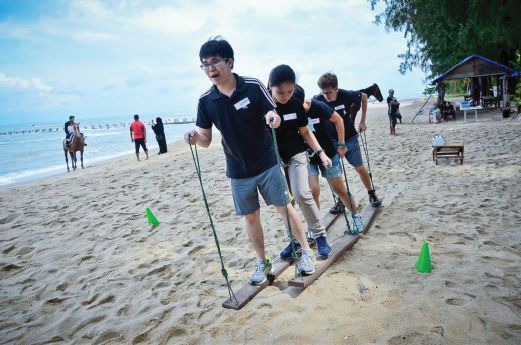 Taking team building beyond the limit | New Straits Times