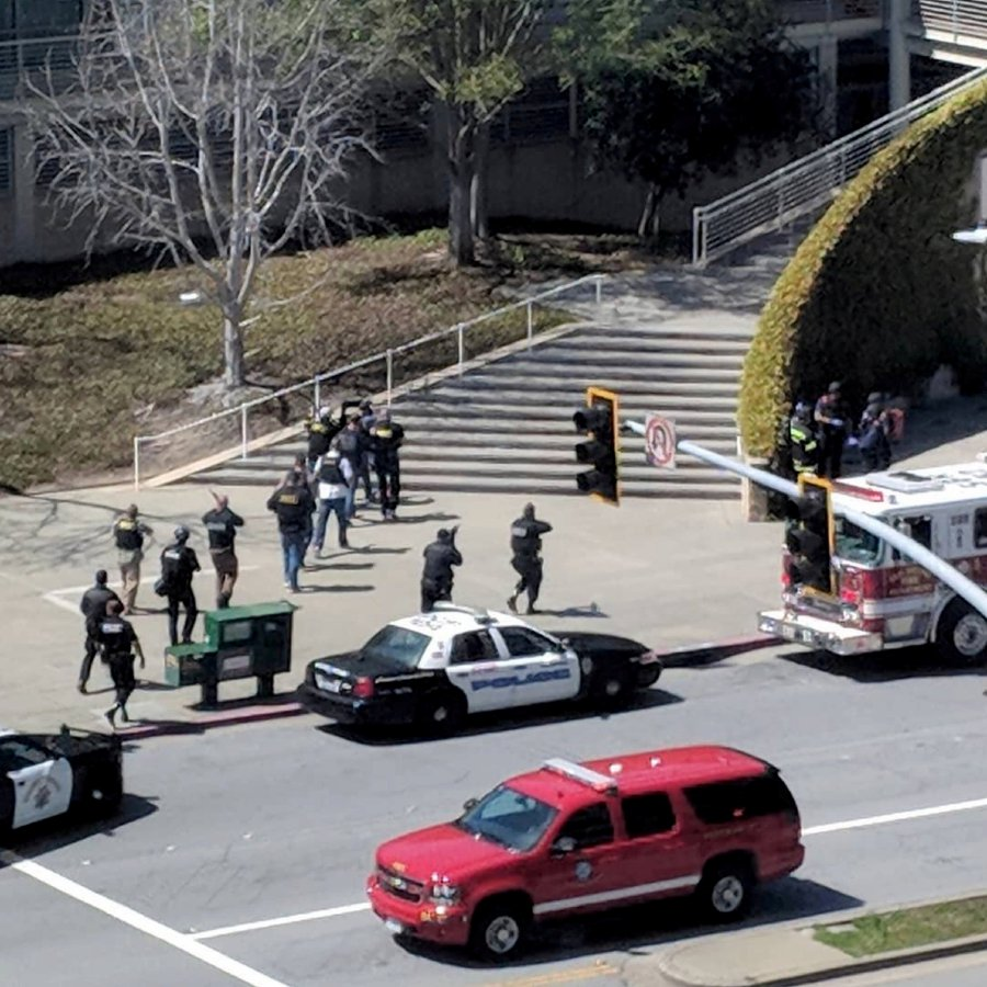 Female suspect dead, several hurt in YouTube office shooting | New