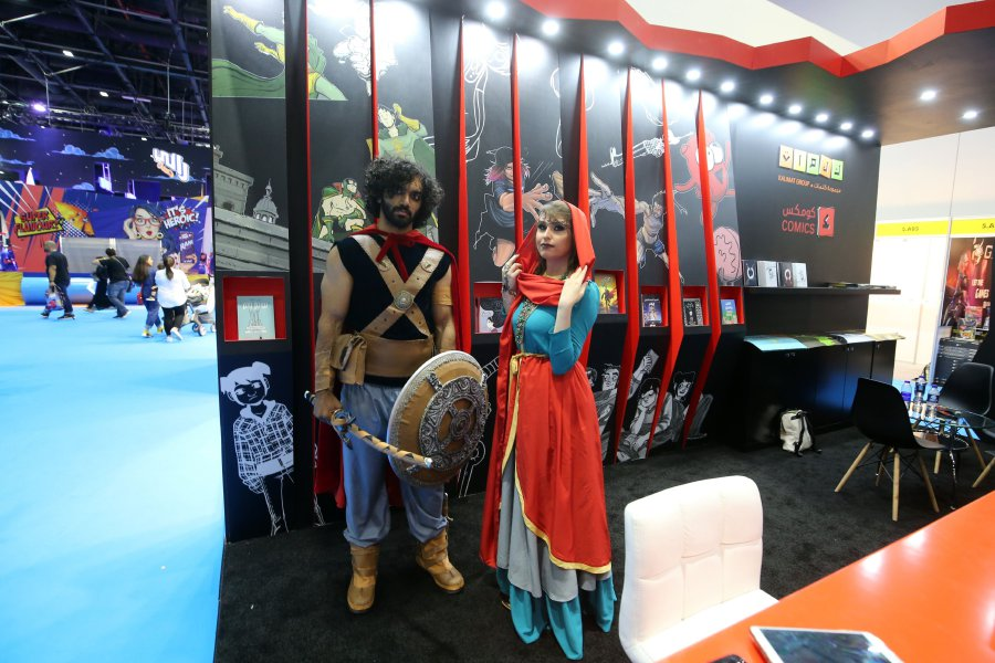 Middle East Comic Con kicks off in Dubai   New Straits Times