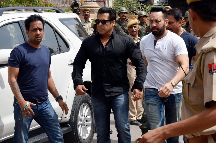 Sprouts, a wooden bed, a rug and a cooler for Salman Khan