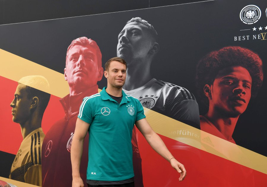a48a2650303 Germany have included 2014 World Cup-winning captain and goalkeeper Manuel  Neuer in their final squad for the 2018 tournament