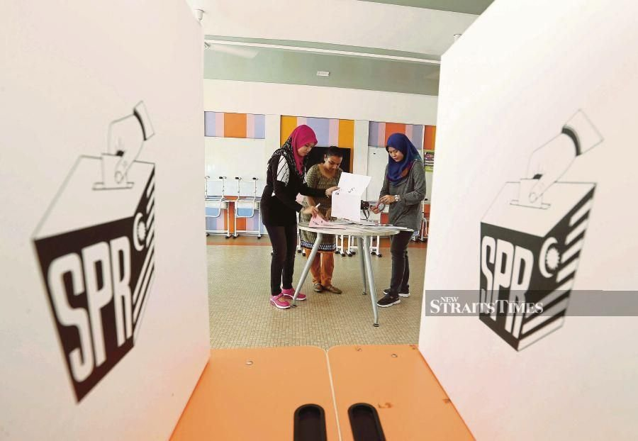 Malaysia is one of 13 countries that have yet to allow 18 year olds to vote. FILE PIC