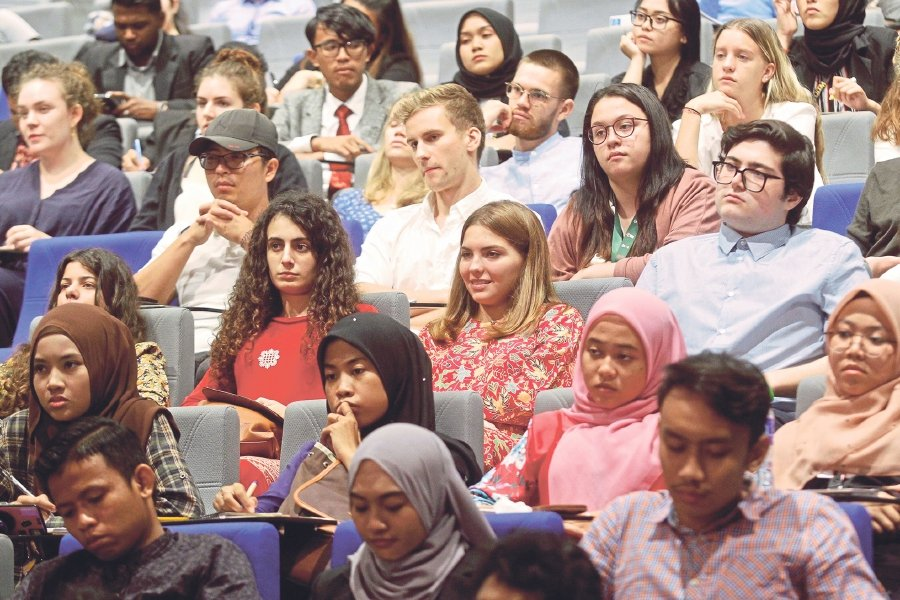 International students at Sunway University make up 12 per cent of the student body.