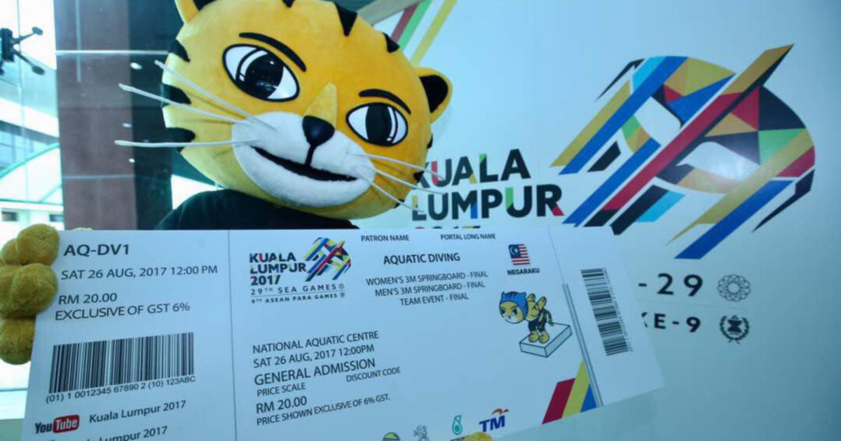 Golf Cars For Sale >> SEA Games tickets go on sale today, between RM10 to RM20 | New Straits Times