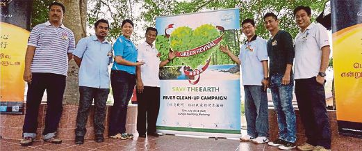 The event organisers (from left) Mohammad Shahid Ismail, Mohammad Kamal Redzuan Kamarudin, Chris Lim, Mohammad Shahid Ismail, Datuk Chan Chee Fai, Wong Chee Meng and Chua Teik Huang.