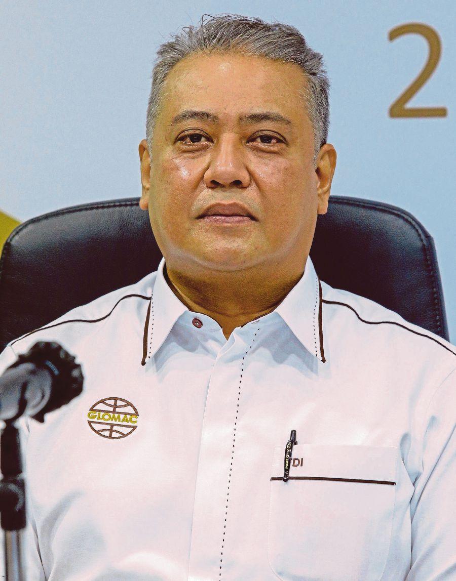 Glomac Berhad chief, Datuk Seri FD Iskandar at Menara Glomac. NSTP/Photo