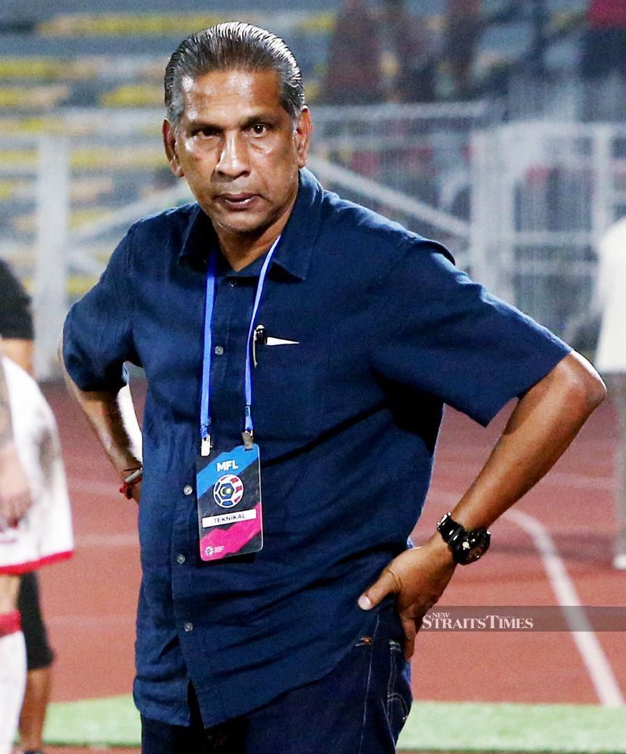 Selangor coach B Satiananthan. NSTP PIC
