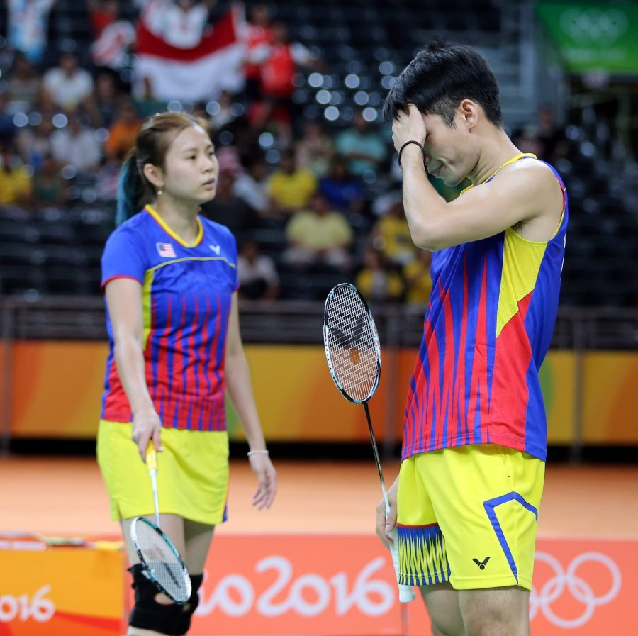No survivors Malaysian mixed doubles all out of Malaysia Open