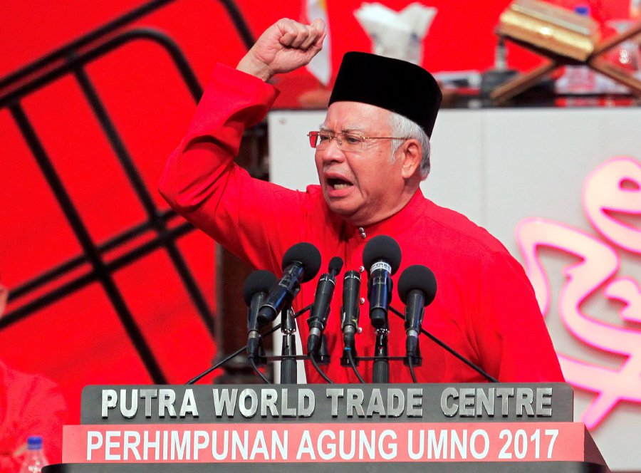 Image result for umno general assembly 2017