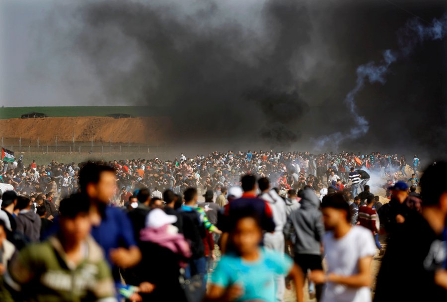 Gaza-Israel border: a week of deadly clashes   New Straits