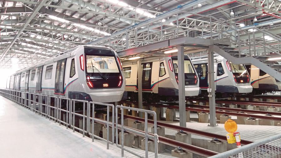 Chief Secretary to the Government Tan Sri Dr Ali Hamsa has proved his mettle in project management, having ensured that the Mass Rapid Transit project finished well ahead of time. FILE PIC