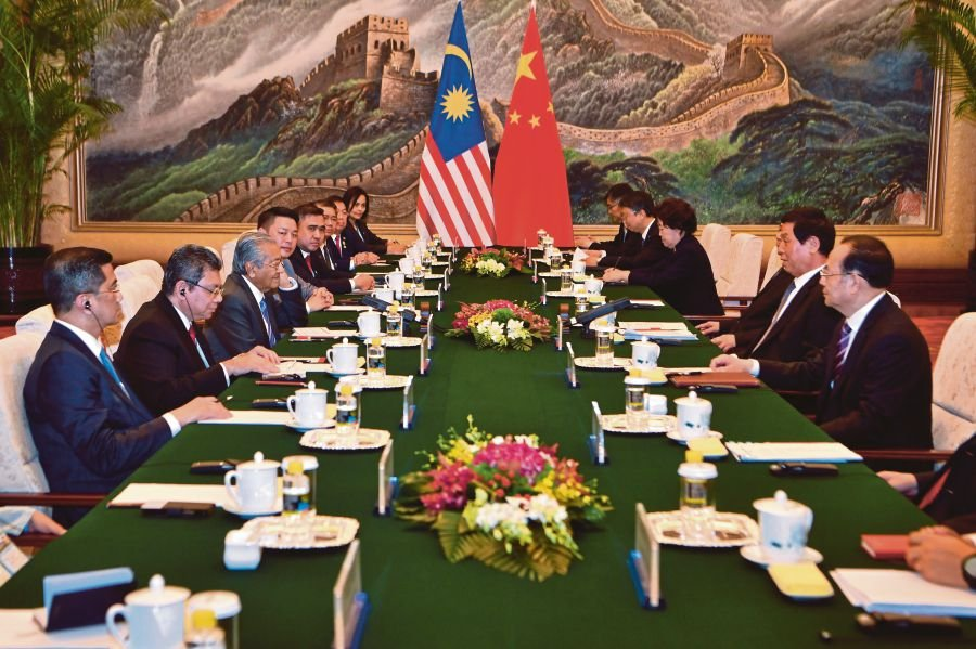 Prime Minister Tun Dr Mahathir Mohamad had bilateral meetings with China's President Xi Jinping, Premier Li Keqiang and Chairman of the Standing Committee of the National People's Congress Li Zhanshu duringhis four-day visit to Beijing last month.
