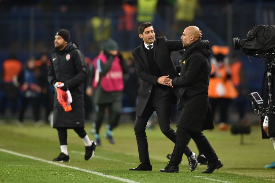 Image result for pep guardiola shakhtar donetsk 2-1 manchester city