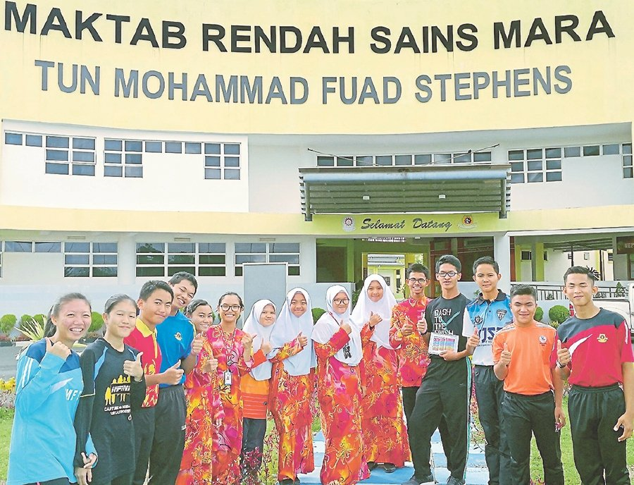 Mara is focusing on making MRSM the top choice for students who obtain excellent results in Ujian Pencapaian Sekolah Rendah (UPSR) and Pentaksiran Tingkatan 3 (PT3).- NSTP/Poliana Ronnie Sidom.