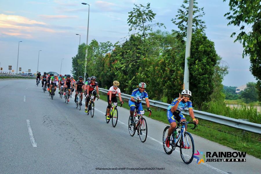 The Fit Malaysia Grand Ride was held in Cyberjaya in April.