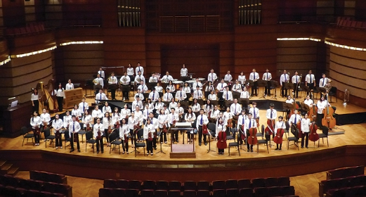 The Malaysian Philharmonic Youth Orchestra.