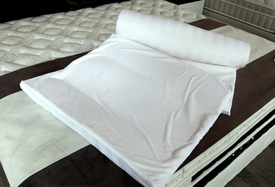 Good bedding is crucial for peaceful slumber.