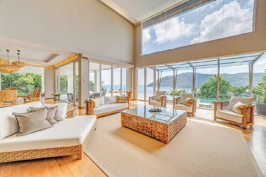 The Taaras Beach & Spa Resort has stylish suites and rooms, as well as a five-bedroom private villa.