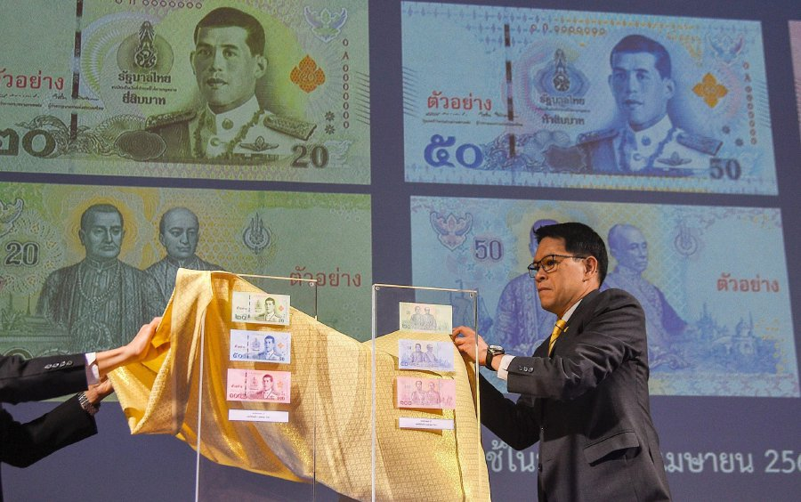 Thai king to replace father on new banknotes | New Straits Times