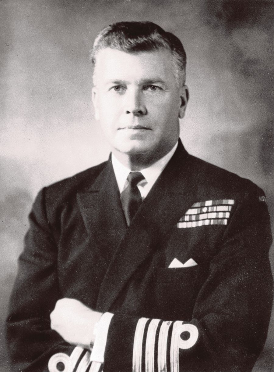 Captain Guy Richmond Griffiths in full ceremonial uniform just after returning to Australia from the Vietnam War in 1968. PIC COURTESY OF REAR-ADMIRAL (RTD) GUY RICHMOND GRIFFITHS