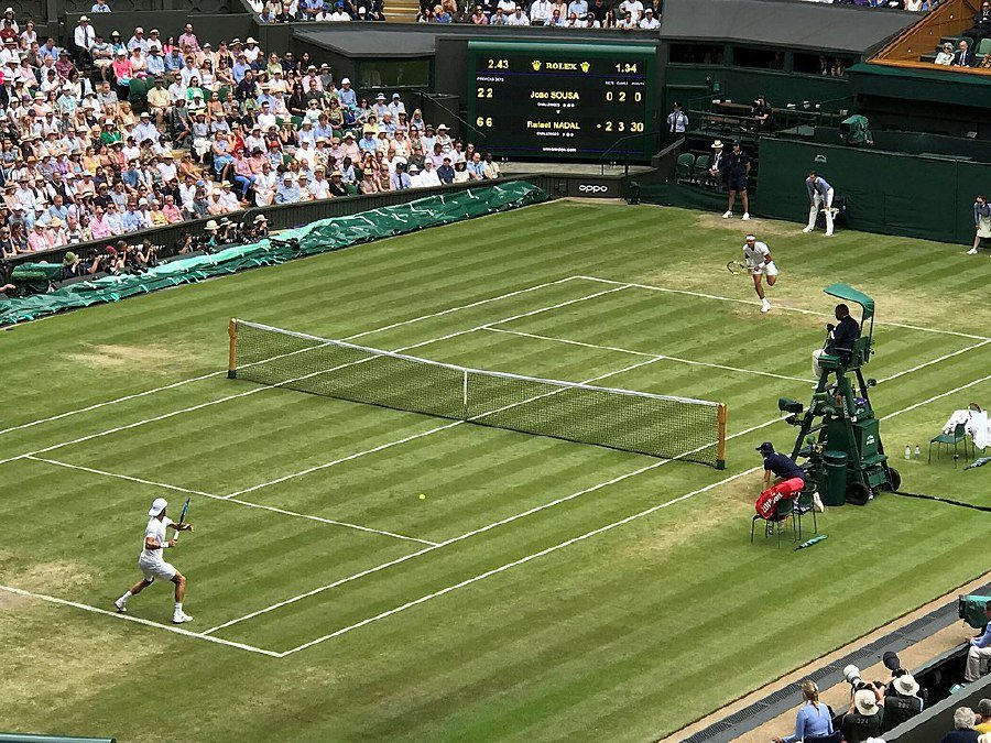 Wimbledon is set to start in London on June 29, but the continuing spread of the virus has caused havoc with the sporting schedule. WIKIMEDIA COMMONS/FILE PIC