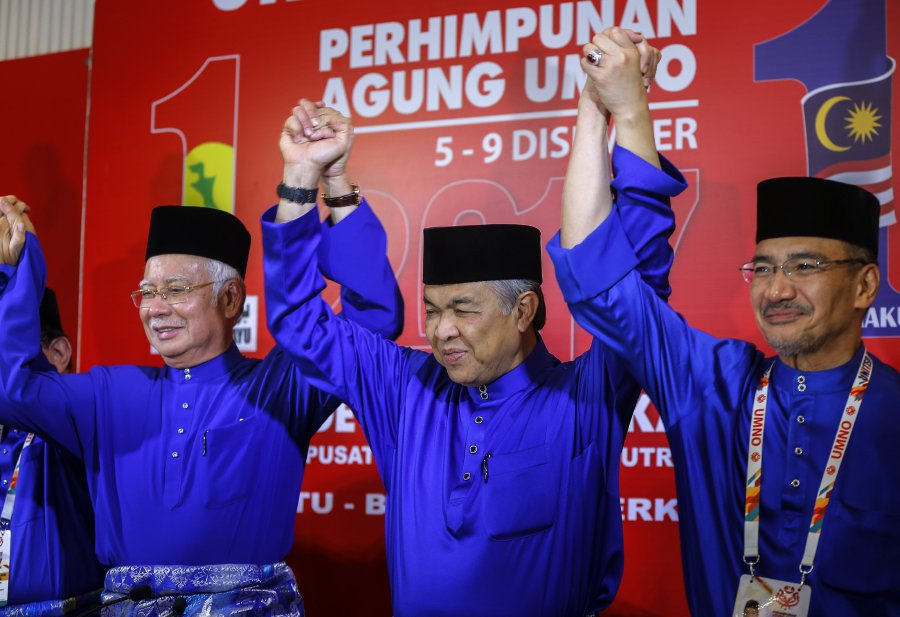Image result for Najib Razak remains strong in UMNO