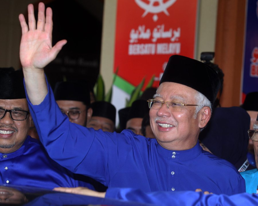 Malaysia's ruling party unites behind Najib as election looms